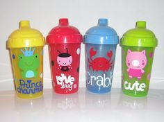 Sippy cups are great to include in your shoebox gift!