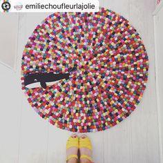 Repost @emiliechoufleurlajolie un tapis Alisha qui n'en finit pas de faire…
