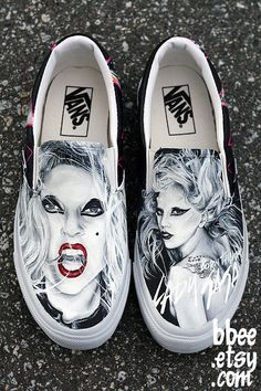BBEE › MADE TO ORDER  MADE TO ORDER (Any Size) Original Lady Gaga Born This Way Shoes