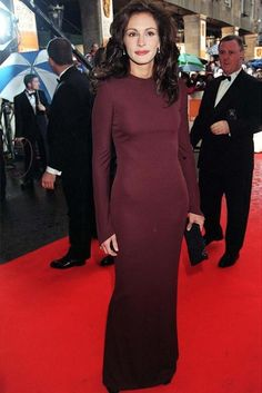 Julia Roberts: Best Dressed Bafta Awards stars