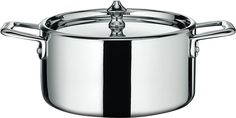Scanpan 11251600 Maitre 'D Steel Covered Dutch Oven, 1.6 quart, Metallic ** Find out more details by clicking the image : Chef's Pans
