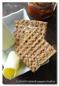 Havreknäckebröd utan gluten - Glutenfriarecept