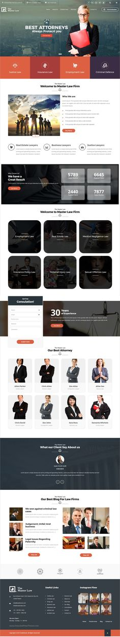 Amazing responsive 7in1 #WordPress theme for #Legal Advisers, Legal #offices, Lawyers, #Attorneys, Barristers at Law, Counsels, Solicitors, Advocates website download now➩ https://themeforest.net/item/lawbase-agency-corporate-business-wordpress-theme/16718478?ref=Datasata