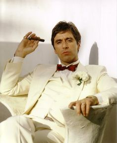 "filmloversareverysickpeople: ""Al Pacino - ""Scarface"", 1983 by John Bryson"""