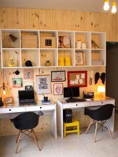 Home-office para inspirar a sua semana!  #arquilego #homedecor #inspiração #decoração #design #arquitetura #compartilhado