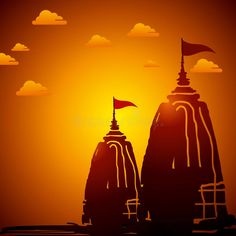 Illustration about Indian temple architecture at sunset,illustration. Illustration of hinduism, history, indian - 42614465 Shri Ram Wallpaper, Warriors Wallpaper, Lord Rama Images, Lord Shiva Hd Images, Hinduism History, Shri Ram Photo, Temple Drawing, Indian Temple Architecture, Lord Hanuman Wallpapers