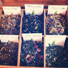 Our new tea flavours on Instagram