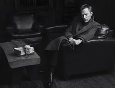 Paul Bettany Promotes Shelter, Poses for Interview Shoot