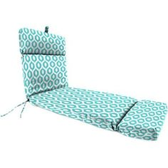 Jordan Manufacturing Outdoor Patio Chaise Cushion Image 1 of 1