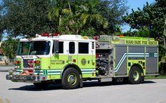 Miami-Dade Fire Rescue Engine-35 2003 Pierce Lance 1500/750.