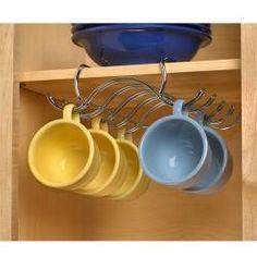 under cabinet mug holder.
