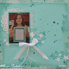 Scrapbooking Class by Alicia Redshaw