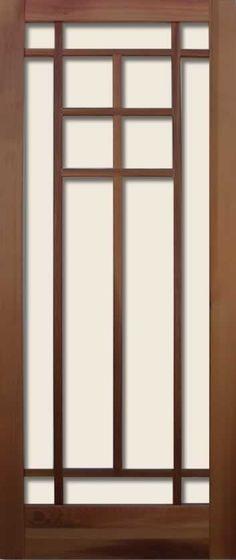 Craftsman style: Coppa Woodworking- America's leading manufacturer of quality Wood Screen Doors and Wood Storm Doors. Custom Screen Doors, Wood Screen Door, Wooden Door Design, Wooden Doors, Craftsman Style Doors, Craftsman Windows, Craftsman Homes, Wood Storm Doors, Glass Pantry Door
