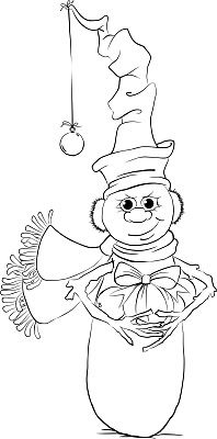 Free Printable Now, what else is a snowman able to give for Christmas other than some hand-made, meticulously crafted, perfectly s. Colouring Pics, Adult Coloring Pages, Coloring Books, Coloring Sheets, Digital Stamps Christmas, Painting Templates, Hand Painted Wine Glasses, Christmas Colors, Christmas Snowman
