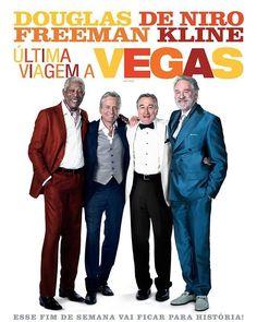 ÚLTIMA VIAGEM A VEGAS Billy (Michael Douglas) Paddy (Robert De Niro) Archie (Morgan Freeman) e Sam (Kevin Kline) são amigos desde a infância e hoje são senhores de idade. Quando Billy o solteirão do grupo decide enfim pedir em casamento sua namorada de trinta e poucos anos ele e os amigos resolvem viajar até Las Vegas para reviver a juventude e curtir uma tremenda despedida de solteiro. O que eles não imaginavam é que a Las Vegas atual seria bem diferente da cidade que eles conheceram…