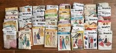 Huge Lot of 50 Simplicity Sewing Patterns ( Home & Garden ) in Joshua, TX - OfferUp
