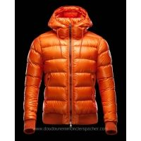 doudoune moncler orange