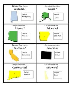Scrambled States of America Geography Learning Game: Oh ...