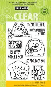 Hero Arts Clear Stamps LIL HOOT cl755 2014 at Simon Says STAMP!                 $15.99