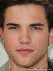A post on different celebrity morphs. Can you tell which to hotties morphed into this guy?