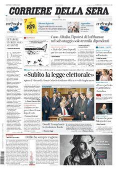 Corriere della Sera // 27/04/2017 //
