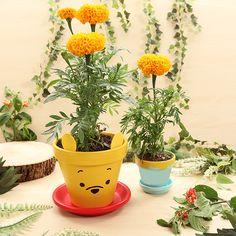 Winnie Puuh und die Blumentöpfe