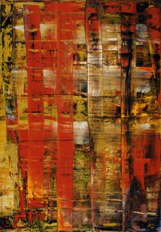 Abstract Painting. Gerhard Richter oil on canvas 1992