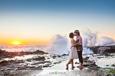 Laguna Beach Portrait Engagement | Paul & Catherine