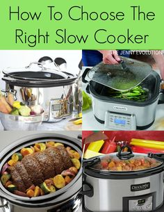 Ultimate Slow Cooker Buying Guide! How To Choose The Right Slow Cooker | The Jenny Evolution
