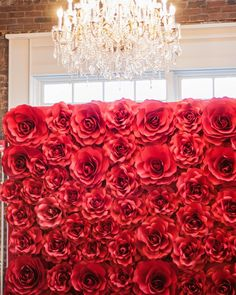 Red roses paper flowers backdrop available for rent Red roses paper flowers backdrop available for rent Big Paper Flowers, Crepe Paper Flowers Tutorial, Paper Flower Decor, Paper Flower Backdrop, Flower Decorations, Red Paper, Paper Art, Event Decor, Red Roses