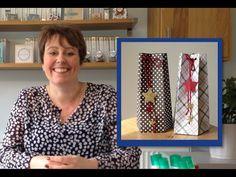 Make a Star Box using the Stampin' Up Gift bag Punch Board