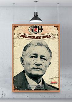 Süleyman Seba / Poster - Beşiktaş