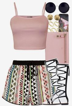 A fashion look from August 2015 featuring WearAll tops, Zara sandals and Tom Ford clutches. Browse and shop related looks. Swag Outfits, Dope Outfits, Casual Outfits, Girl Outfits, Fashion Outfits, Teenager Fashion Trends, Teen Fashion, Womens Fashion, Looks Style