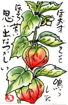 Picture letter  絵手紙