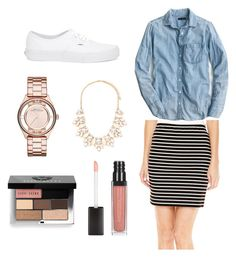 """""""Fall Outfit """" by goxsick ❤ liked on Polyvore featuring A.N.A, Marc by Marc Jacobs, J.Crew, Vans, Forever 21, Bobbi Brown Cosmetics, women's clothing, women, female and woman"""