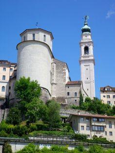 Duomo of San Martino and Juvarra Bell Tower, Belluno, Province of Belluno, Veneto, Italy