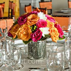 Bright arrangements of 