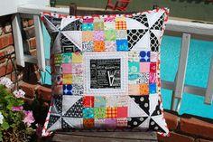 Pillow Talk Swap 7 by MichelleSews, via Flickr