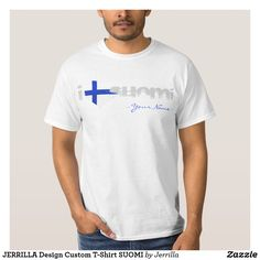 JERRILLA Design Custom T-Shirt SUOMI