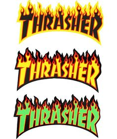 The Thrasher Flame Logo sticker allows you to easily personalize and improve your items.