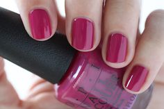 OPI New Orleans Spare Me A French Quarter? Raspberry Cream Nail Polish - Summer Nails