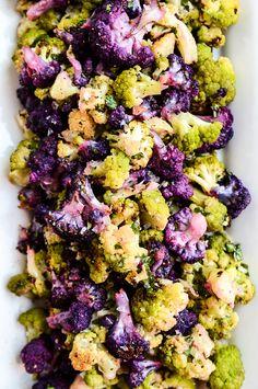 Roasted Cauliflower with Tahini-Cilantro Vinaigrette