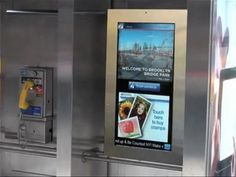 """New York to replace payphones with 32 inch touch screens: The city of New York is finally moving ahead with a pilot program to replace 250 of its payphones with """"smart"""" touchscreens that can display useful information to those on the go around the city.    http://www.digitaltrends.com/mobile/new-york-to-replace-payphones-with-32-inch-touchscreens/"""