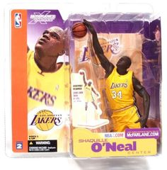 McFarlane Toys NBA Sports Picks Series 2 Shaquille ONeal Los Angeles Lakers Yellow Jersey Action Figure >>> Click on the image for additional details.Note:It is affiliate link to Amazon. #KidsSportGame