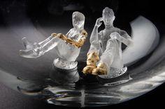 """""""Espaces"""" par Anne Donzé et Vincent Chagnon © FrançoisGolfier #handmade #madeinFrance #handcrafted #faitmain #creation #contemporain #contemporary #verre #glass #glassart #SalonRevelations #metiersdart #sculpture #verrier #sculpture"""