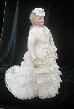 Madeleine, an exquisite  FG French Fashion Doll. Owned and dressed by Elizabeth Boyette