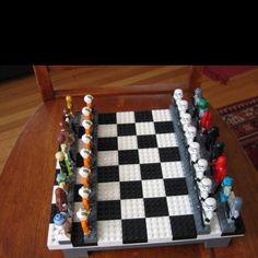 Lego Star Wars chess set
