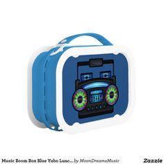 #MusicBoombox #BlueYuboLunchBox by #MoonDreamsMusic #RetroBoombox #BackToSchool #Boy