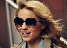 Glee Star Dianna Agron Spray Tans #Glee #SprayTan #Celebrity