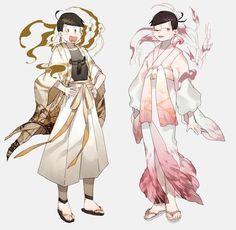 Jyoshimatsu y Todomatsu Manga, Anime Toon, Osomatsu San Doujinshi, Art Costume, Ichimatsu, Hot Anime Guys, Light Novel, Anime Outfits, Fujoshi